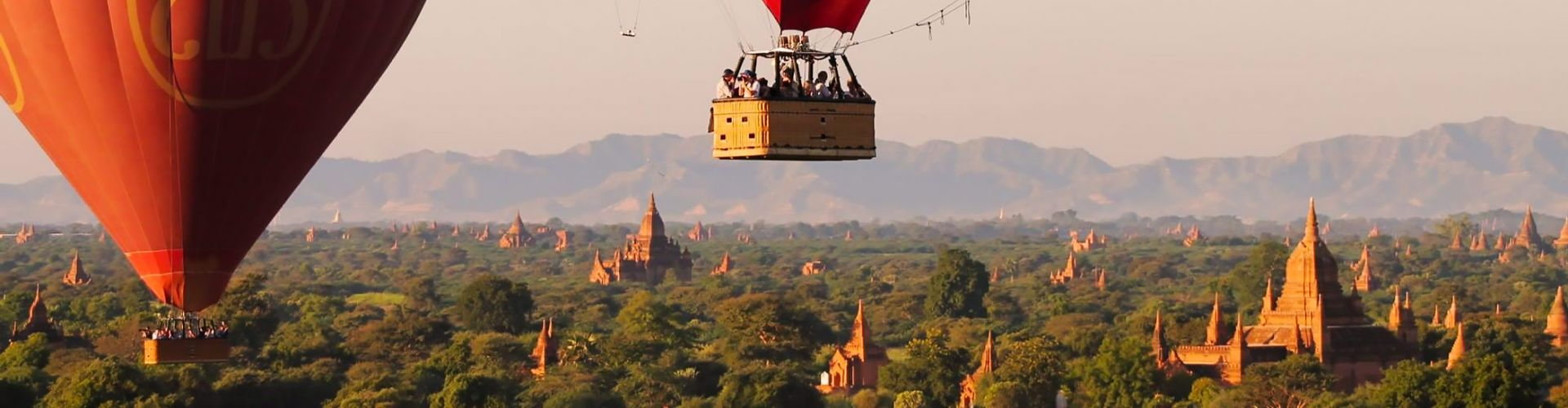 Balloon Over Bagan - Myanmar Travel